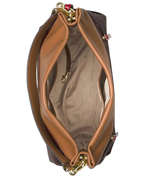 Michael Kors Signature Lex Large Hobo & Reviews Handbags