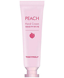 Receive a FREE Deluxe Peach Hand Cream with any $35 TONYMOLY purchase!