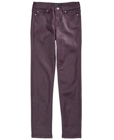 Celebrity Pink Coated Skinny Jeans, Big Girls