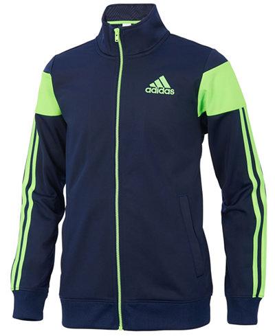 adidas Icon Sport Jacket, Little Boys - Coats & Jackets - Kids ...