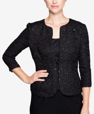 Sparkly Evening Jackets Women