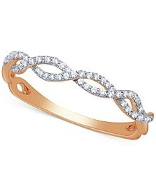 Diamond Braided Band (1/5 ct. t.w.)