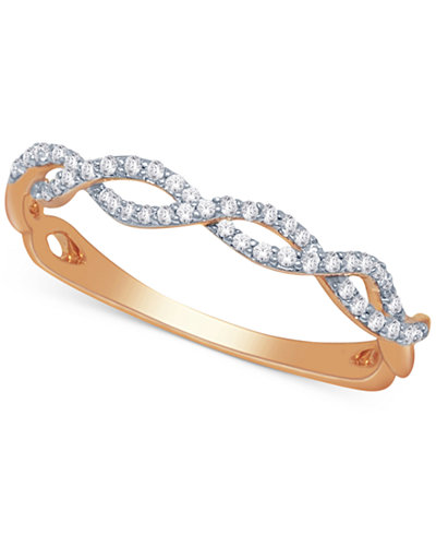 Diamond Braided Band (1/5 ct. t.w.)