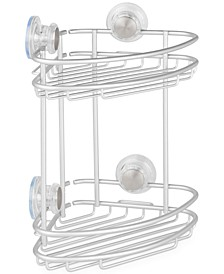 Metro Turn-N-Lock 2-Tier Corner Shower Caddy