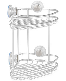 Interdesign Metro Turn-N-Lock 2-Tier Corner Shower Caddy