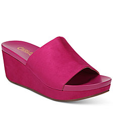 Carlos by Carlos Santana Delphina Wedge Slide Sandals