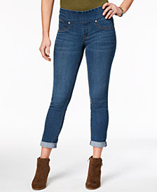 Style & Co Cuffed Denim Jeggings, Created for Macy's