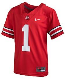 Nike Ohio State Buckeyes Replica Football Game Jersey, Big Boys (8-20)