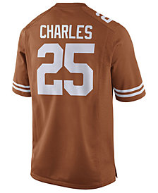 Nike Men's Jamaal Charles Texas Longhorns Player Game Jersey