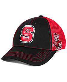 Top of the World North Carolina State Wolfpack Peakout Stretch Cap