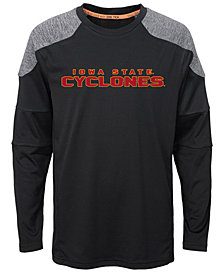 Outerstuff Iowa State Cyclones Gamma Long Sleeve T-Shirt, Big Boys (8-20)