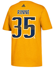 adidas Men's Pekka Rinne Nashville Predators Silver Player T-Shirt