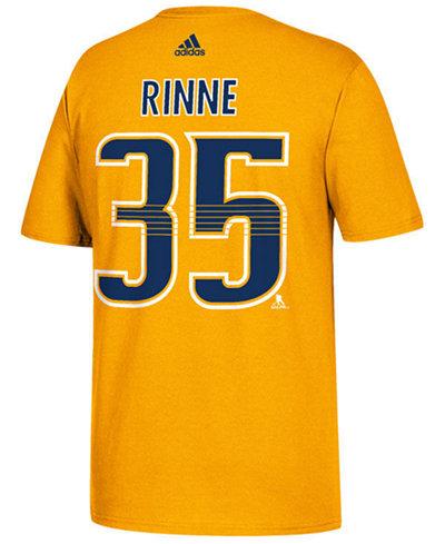 adidas Men's Pekka Rinne Nashville Predators Silver Player T-Shirt
