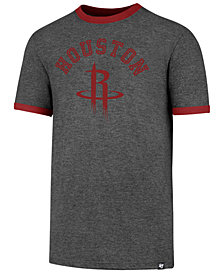 '47 Brand Men's Houston Rockets Capital Ringer T-Shirt