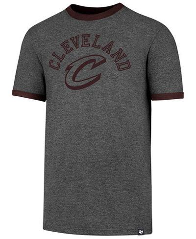 '47 Brand Men's Cleveland Cavaliers Capital Ringer T-Shirt