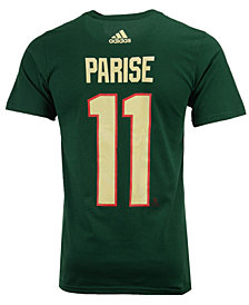 adidas Men's Zach Parise Minnesota Wild Silver Player T-Shirt
