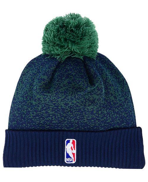 New Era Utah Jazz On-Court Collection Pom Knit Hat - Sports Fan Shop ... 3d011f2711c