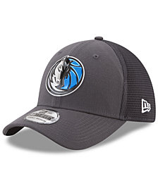 New Era Dallas Mavericks On Court Graph 39THIRTY Cap