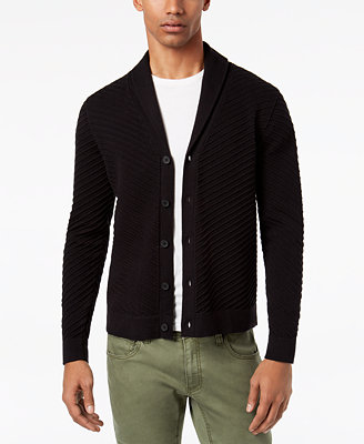 I.N.C. Men's Ribbed Cardigan, Created For Macy's by Inc International Concepts