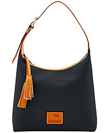 Dooney & Bourke Patterson Leather Paige Pebble Leather Hobo
