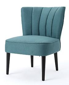 Zaidan Channel Accent Chair, Quick Ship