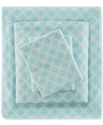 4-Pc. Cotton Flannel Full Sheet Set
