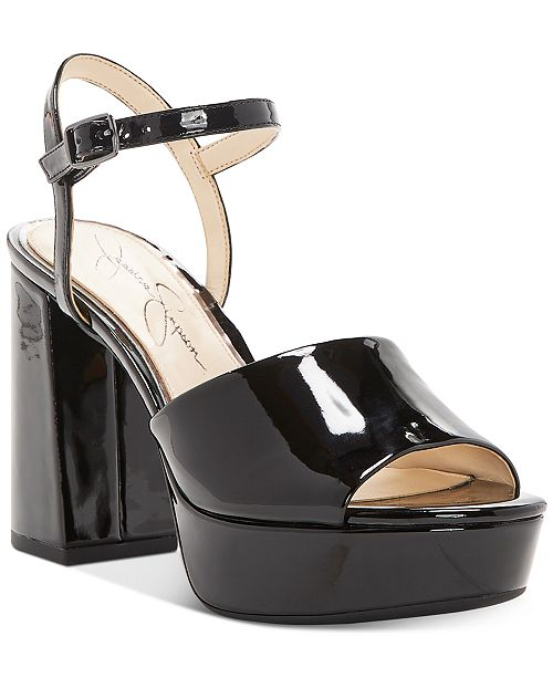 Jessica Simpson Kerrick Two-Piece Platform Sandals