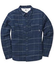 Element Men's Shelton Grid-Pattern Flannel Shirt