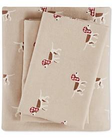 Woolrich Cotton Flannel 4-Pc. Full Sheet Set