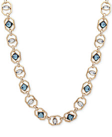 Ivanka Trump Gold-Tone Openwork Stone Collar Necklace