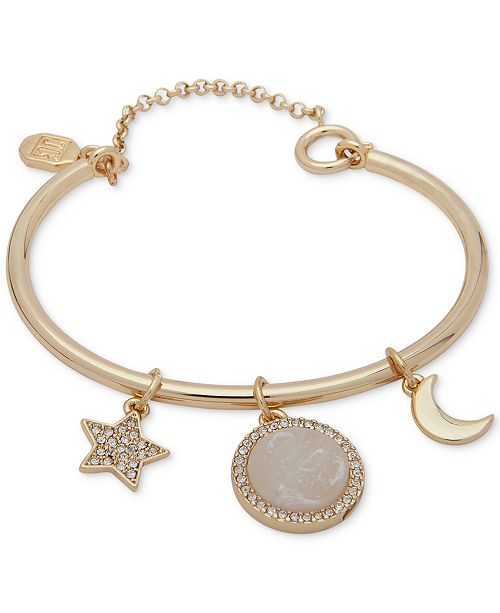 Ivanka Trump Gold-Tone Charm Bangle Bracelet