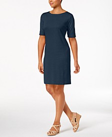 Sport Cotton Boat-Neck Dress, Created for Macy's