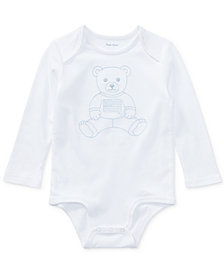 Ralph Lauren Baby Boys Bear Cotton Bodysuit
