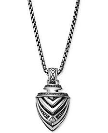 Scott Kay Men's Arrow Pendant Necklace in Sterling Silver