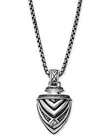 Scott Kay Men's Arrow Pendant Necklace in Sterling Silver