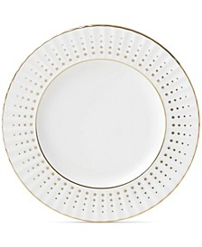 Golden Waterfall Butter Plate