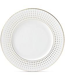 Golden Waterfall Dinner Plate