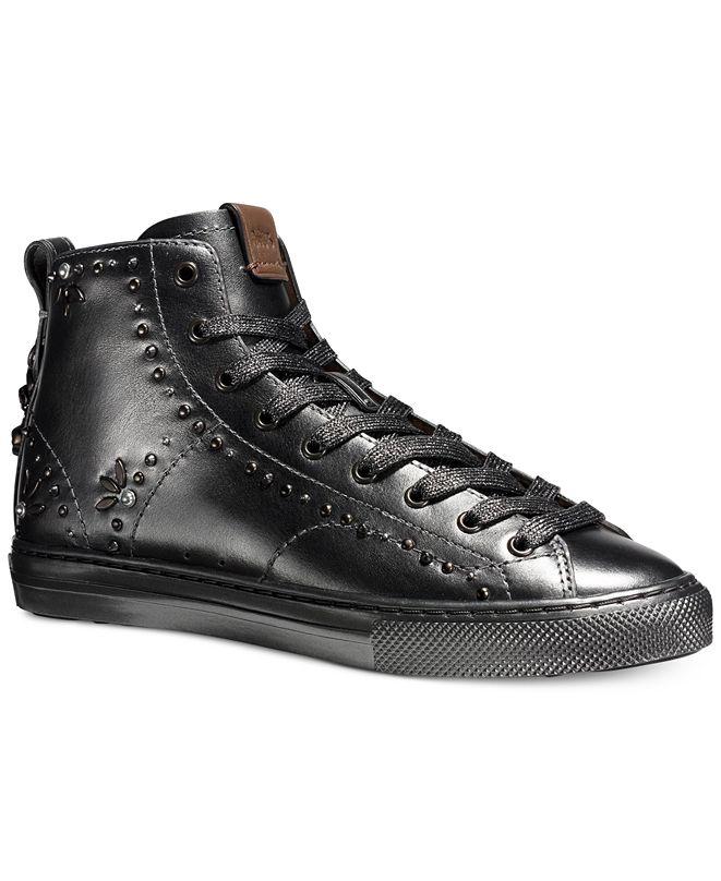 Coach High Top Sneakers Macys