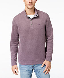 Men's Cold Spring Mock Neck Knit, Created for Macy's