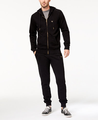 True Religion Men's Shoestring Horseshoe Tracksuit Separates
