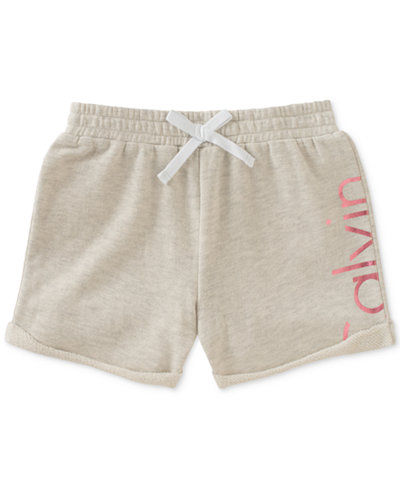 Calvin Klein Logo Shorts, Big Girls