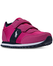 Polo Ralph Lauren Little Girls' Zaton Casual Sneakers from Finish Line