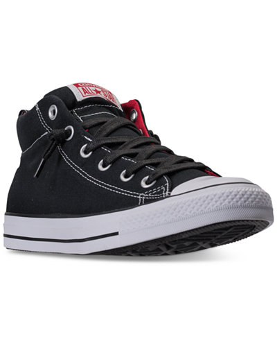 Converse Mens Chuck Taylor All Star Street Mid Casual Sneakers from Finish  Line