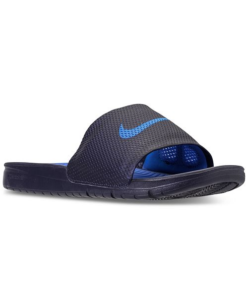 9e9a6e34180e ... Nike Men s Benassi Solarsoft Slide Sandals from Finish Line ...