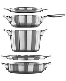 Premier 5-Pc. Space-Saving Supper Set