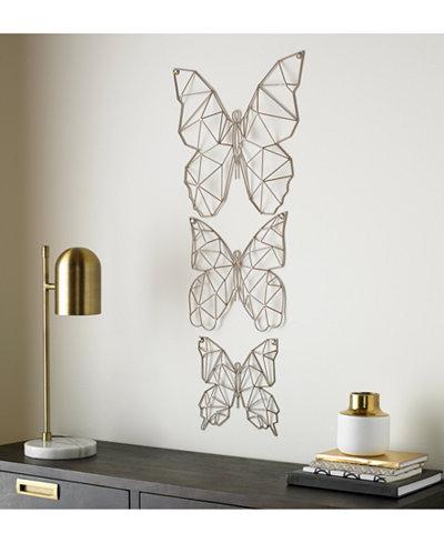 Graham & Brown Flutter 3-Pc. Wall Art Set
