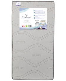 Serta iComfort Dawn Mist Firm Crib & Toddler Mattress, Quick Ship, Mattress in a Box