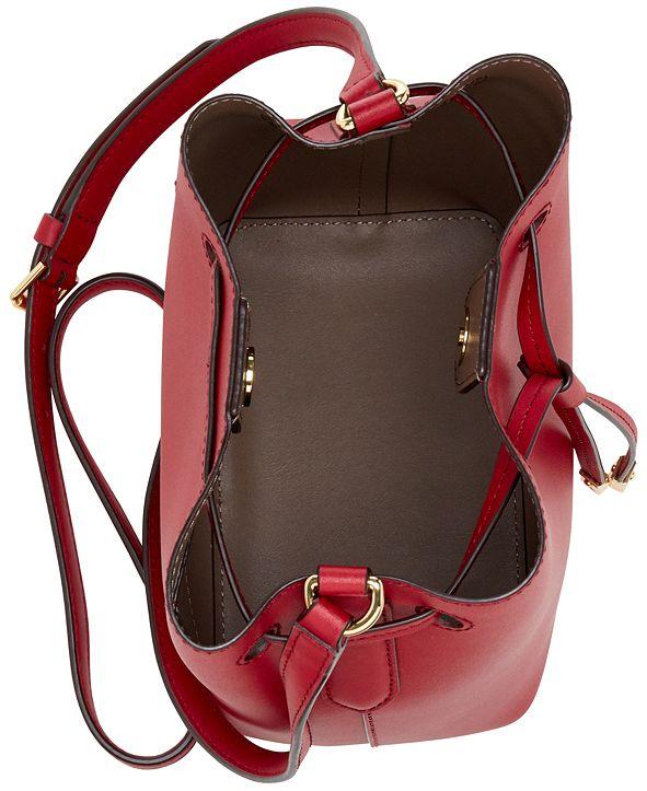 Lauren Ralph Lauren Dryden Debby II Mini Leather