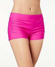 GO by Gossip Ruched Swim Boyshorts