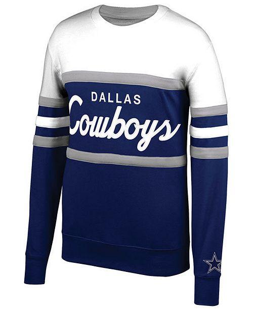 big sale e4a43 3b9f9 Mitchell & Ness Men's Dallas Cowboys Head Coach Crew ...